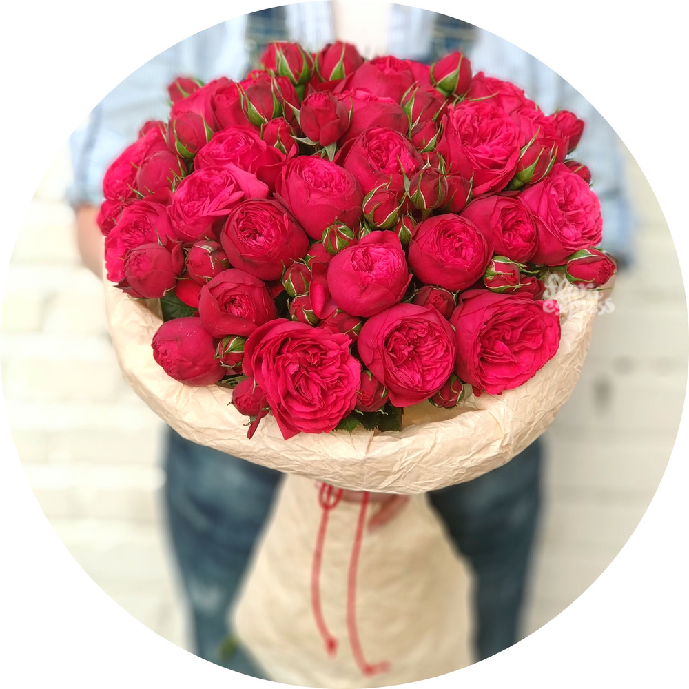 Букет «Flora Express», Букет роз «Piano Red»